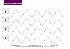 Grafomotricidad: trayectos curvilíneos