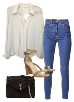 """Sans titre #770"" by el-khawla ❤ liked on Polyvore featuring Yves Saint Laurent"