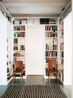 built in white shelves. a great way to add more storage into my tiny house/small space.