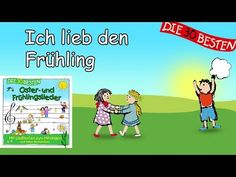Ich lieb den Frühling - Die besten Oster- und Frühlingslieder || Kinderlieder - YouTube