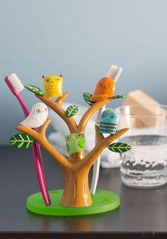 Go Brush Your Tree-th Toothbrush Holder | Mod Retro Vintage Bath | ModCloth.com