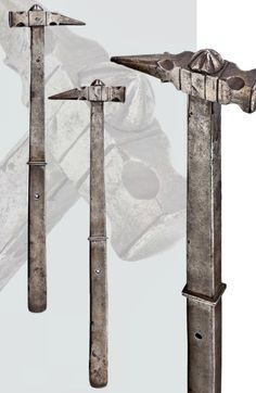 A German war hammer, 1st half of the 16th century.