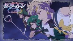 Sailor Moon Crystal Act 32 Preview - Sailor Pluto, Neptune and Uranus