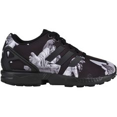 sale retailer 58c84 1a16a adidas Originals ZX Flux Trainers ( 62) ❤ liked on Polyvore featuring men s  fashion,