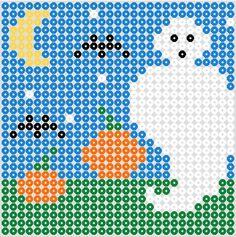 Halloween screen3 hama beads by beadmerrily