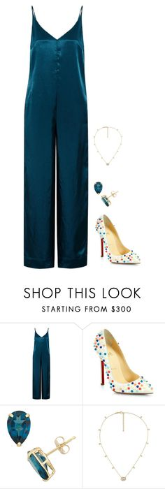 """""""Untitled #1234"""" by h1234l on Polyvore featuring Golden Goose, Christian Louboutin and Gucci"""