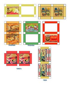 Miniature Printables - Lots of great dollhouse printables here. Description from…