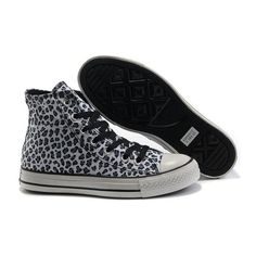 b40265ca45af All Star Converse Leopard Seasonal Women Blue High Top Canvas Sneakers  ( 53) ❤ liked