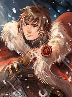 Chief Hiccup by kadeart on tumblr