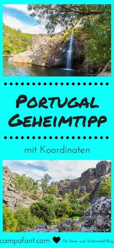 Portugal Geheimtipp: Penha Garcia und Moinhos de Agua Portugal insider tip: Penha Garcia and the Moinhos de Agua. A beautiful place, perfect for a short hike. It goes past old mills to a small waterfa Best Places To Camp, Great Places, Places To Go, Beautiful Places, Europe Destinations, Surf Portugal, Portugal Travel, Koh Lanta Thailand, Europe Holidays