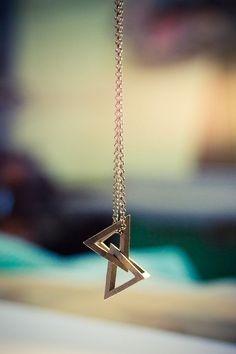 Geometric Jewellery by The Design Division , via Behance....