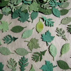 Plantable Confetti Leaves. I need to throw a festive event!