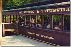 Oil City & Titusville Railroad  Take a ride on the sunny side!