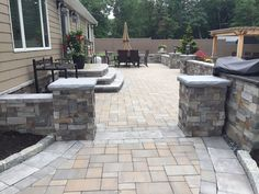 Cambridge Pavingstones with ArmorTec offers pavings options for patios, pools, walkways, driveways, landscape walls and outdoor living solutions.