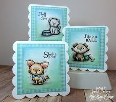 Kraftin' Kimmie Stamps Totally Paw-some Stamp Set, Card Craft Handmade Dog Copics My Favorite Things Die #KraftinKimmie #Crafts www.KraftinKimmieStamps.com