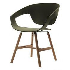 Poltrona Casamania Vad Wood design Luca Nichetto armchair - chair