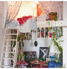 Love love this...epitomises what I'd want in my tiny home