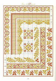 ru / Photo # 45 - the book - irinika Cross Stitch Boarders, Cross Stitch Rose, Cross Stitch Alphabet, Cross Stitch Samplers, Cross Stitch Charts, Cross Stitch Designs, Cross Stitching, Cross Stitch Embroidery, Embroidery Patterns