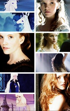 """The Last Unicorn"" live action fancast: Tamzin Merchant as The Unicorn/Lady Amalthea (courtesy of theboyfallsfromthesky.tumblr.com)"