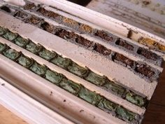 How to clean your mason bee house.