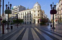 Calle principal de Granada