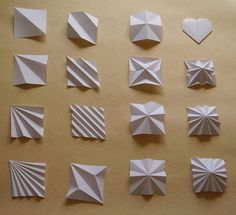 Uchiyama A origami bases by Poetry in Paper, via Flickr