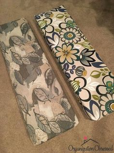 Sewing Cushions How To Reupholster Camper Cushions - Remodeling your camper? Check out how to reupholster camper cushions the easy way! No sewing required! This is a great DIY project for any Camper owner! Truck Camper, Popup Camper, Camper Life, Camper Trailers, Rv Life, Travel Trailers, Cabover Camper, Trailer Tent, Camper Rental
