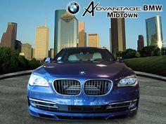 Blue BMW 7 Series ALPINA B7 LWB expensive wedding car, cool wedding car, BMW wedding, Bride limo, groom transportation unique http://www.iseecars.com/used-cars/used-bmw-for-sale#results