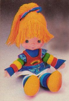 12. Best 80s toy... Rainbow Brite... love her! #kickinitapplecheeks