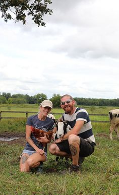 One calf can make a huge difference in the lives around him. Read all about Shawn & Jered Camp and Iowa Farm Sanctuary. #vegan #iowa #compassion