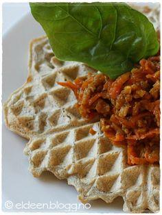 Vafler til middag på vaffeldagen! Gluten, Breakfast, Food, Blogging, Morning Coffee, Meal, Essen, Hoods, Meals