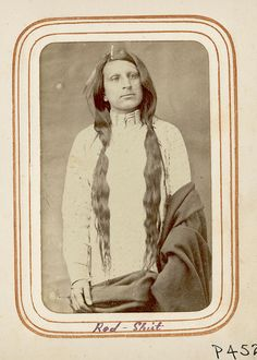 The real Red Shirt was an Oglala Sioux warrior who served in the capacity of chief at two Sioux peace delegations to Washington in 1870 and in 1880. Description from pinterest.com. I searched for this on bing.com/images