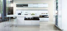 Witte keuken | Poggenpohl keuken | Eigenhuis Keukens