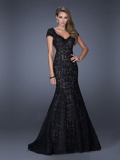 Custom Sexy Backless Blackless Black Lace Long Mermaid Prom Dresses, Prom Gowns, Dresses for Prom, Prom Dress 2016, Affordable Prom Dress, Junior Prom Dress,Formal Evening Dresses Gowns, Homecoming Graduation Cocktail Party Dresses, Holiday Dresses, Plus size