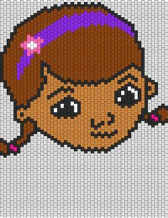 Doc McStuffins bead pattern