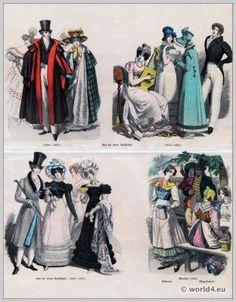 German Biedermeier period fashion 19th century