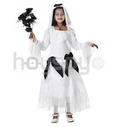 original disfraz para nia de novia cadver para disfrutar de halloween
