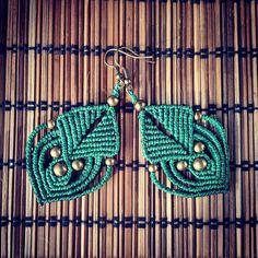 """""""QuetzArt.etsy.com  #macrame #macramejewelry #handmade #handmadejewelry #boho #bohemian #bohemianjewelry #gypsy #tribal #tribaljewelry #hippie #instagood…"""""""