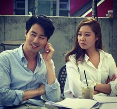 Kong Hyo Jin and Jo In Sung starring in It's Okay, That's Love Gong Hyo Jin, Gong Yoo, It's Okay That's Love, Its Okay, Love 2014, Jo In Sung, Love Scenes, Korean Artist, Drama Movies