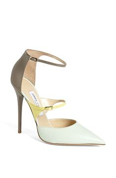Jimmy Choo 'Sunday' Ankle Strap Pump