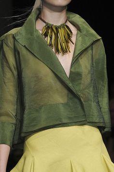 Donna Karan Spring 2012 Details