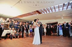 Bride & Groom's first dance during their reception at The Noyes Museum of Art! #wedding #museum #celebration