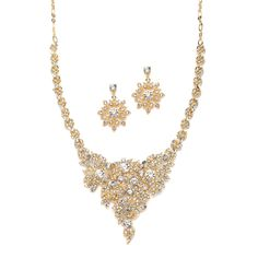 Available at Spotlight Formal Wear- Necklace and earring set
