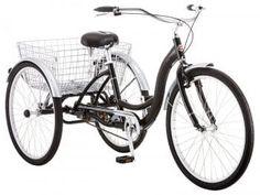 Meridian Adult Schwinn Tricycle Three Wheeled Trike Men's Women's Bicycle Red Mint Green Blue Silver Grey Bike with Metal Wire Shopping Basket Beach Cruiser (Mint Green) Tricycle Bike, Adult Tricycle, Trike Bicycle, Bicycle Basket, Bicycle Tools, Cruiser Bicycle, Cargo Bike, Bicycle Art, Honda Ruckus