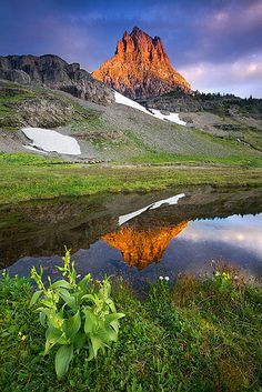 Clements Mountain Dawn -- Glacier National Park, MT