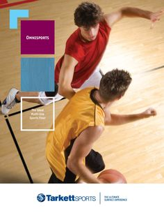 Omnisports cushioned sports vinyl is a synthetic sports floor that can accommodate a multitude of sporting and non-sporting events. Click the image above to download the latest brochure.