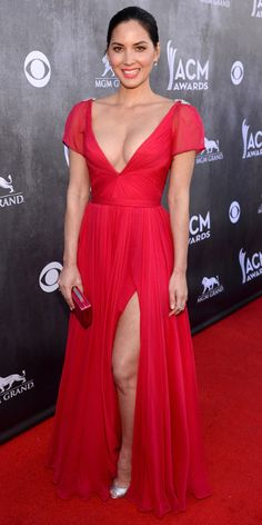 ACM Awards 2014 Red Carpet Arrivals - OLIVIA MUNN from #InStyle