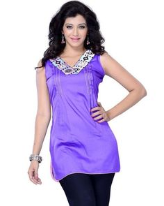 Get Raunchy this Rainy Season with Trendy #Kurtis collection on Ethnic Station.