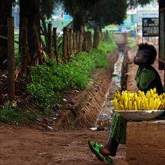 Bananas For Sale Kampala, Uganda