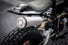 Fat Tracker: Wolf Moto's chunky Yamaha TW200 | Bike EXIF